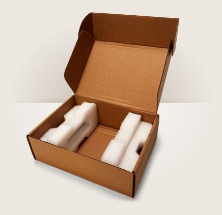 emballage de protection en mousse