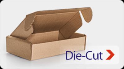 Die-cut boxes - custom packaging